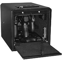Stealth Handgun Hanger Safe Quick Access Electronic Pistol Security Box CA DOJ Approved