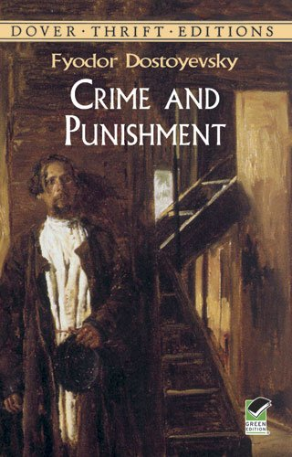Crime and Punishment (Dover Thrift Editions) (Frankenstein Leather Bound)