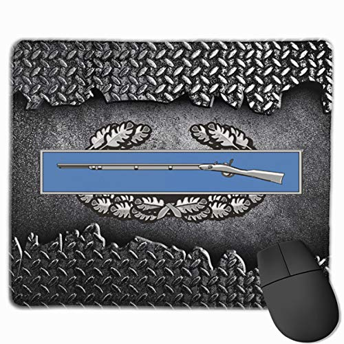 - Army Combat Infantry Badge 1st Award Mouse Pads Pack with Non-Slip Rubber Base Mouse Pad for Computers, Laptop, Office & Home