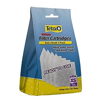 Tetra Whisper Extra Small Filter Cartridges, 4-Pack - AQ-78052 1