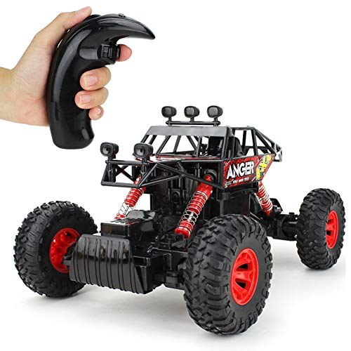 Jellydog Toy Off Road RC Car, Remote Control Climbing Vehicle, 4WD High Speed Rock Crawlers,1:14 Scale 2.4Ghz Racing Car, Buggy Hobby Toy for Boys by Jellydog Toy