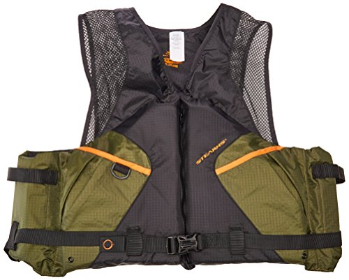 Stearns 2000013801 PFD 2220 Cmft Fishing 3X Grn (Buckle Mens Vest 4)