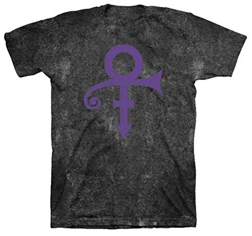 Prince Gift (Prince Men's Symbol Black Mineral Wash T-shirt Medium Mineral Wash)