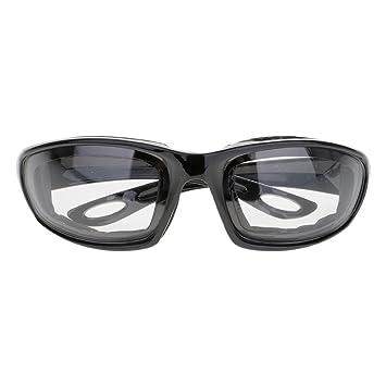 GGG Gafas de seguridad de los niños para el arma del juguete del CS Gafas tácticas de los anteojos de la protección de los ojos color transparente: ...