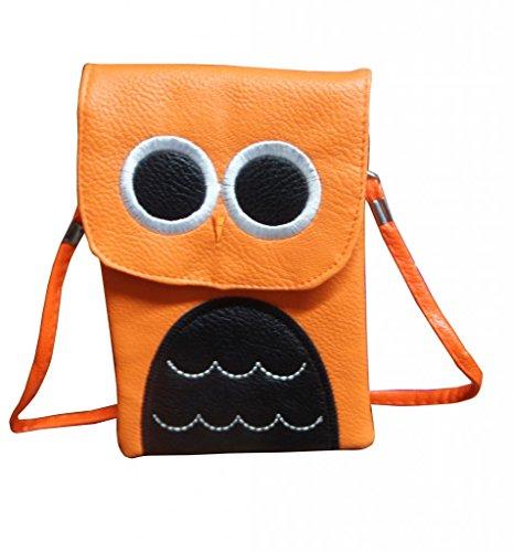 Jessidress Tasche Mädchen Handtasche Kindergartentasche Schultertasche Handtasche Orange