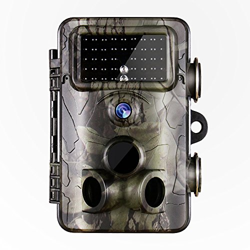 Gosira Game Cameras Fastest 0.4S Trigger 1080P Trail Camera 12MP Deer Hunting Latest 940nm IR LED HD Night Vision IP66 Waterproof Wildlife Animal Monitor Scouting Cam Outdoor Wireless Motion Activated