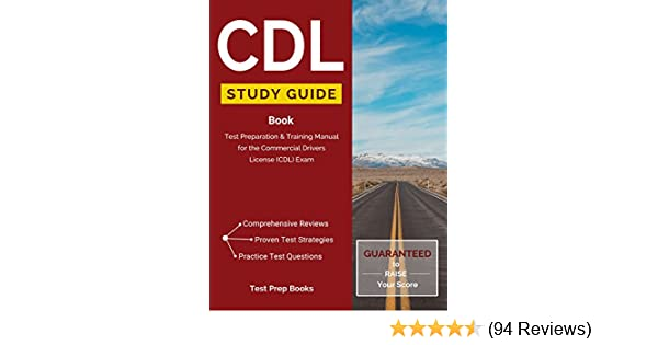 Amazon. Com: cdl study guide book: test preparation & training.