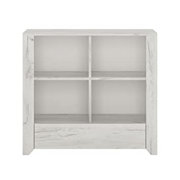 Furniture 2 Go Meubles à Go Angel 1 tiroir Bibliothèque basse, en ...