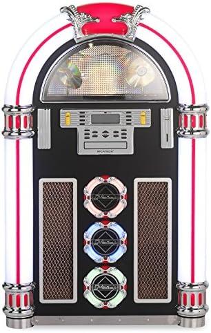 Ricatech RR1600 - jukeboxes (30W, Am, FM, SD, 3.5 mm, 65.5 cm, 1.029m) Negro