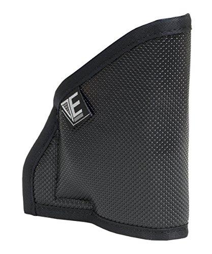Elite Survival Pocket Holster for Kahr PM9 with Crimson Trace Laser, Black (Crimson Trace Sig Sauer P238 Laserguard With Holster)
