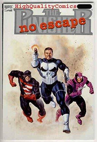 PUNISHER NO ESCAPE, Captain America, NM, Paladin, Joe Jusko, 1990 -