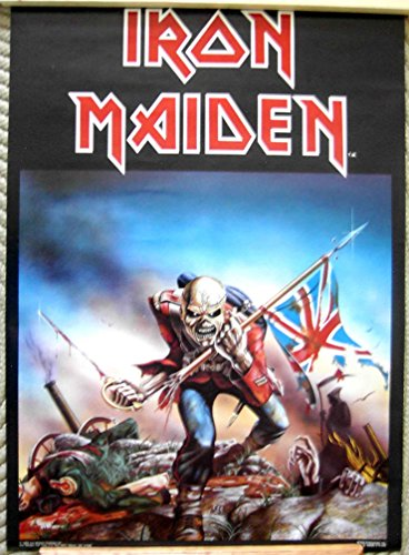 iron maiden aces high poster - 9