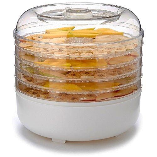 Cooks Club USA FD550WH 125W Food Dehydrator, Mini, White by Cooks Club USA