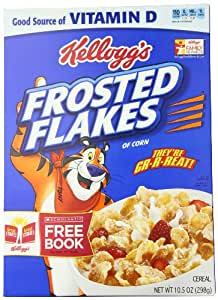 Amazon Com Kelloggs Cereal Frosted Flakes 10 5 Ounce