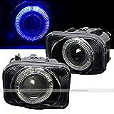 06 sti fog lights - 04 05 06 07 Subaru Impreza WRX / STI Blue Halo Projector Replacement Fog Lights