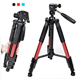Zomei Professional Aluminium Tripod Stand For Canon Nikon DSLR Camera Q111 Red