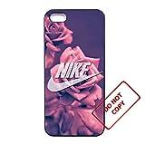 Nike iphone 5c case Customized soft rubber clear phone case,