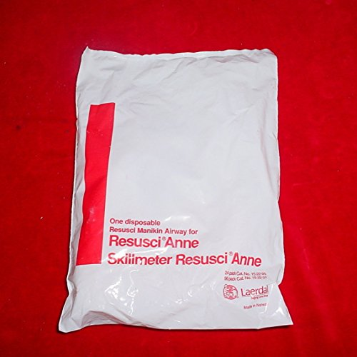 Laerdal Resusci Anne Skillmeter Manikin Disposable Resusci Airway, Lot of 32 ()