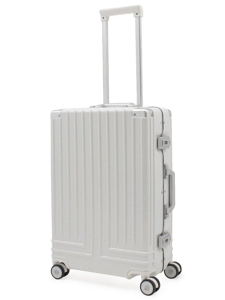 (ランバンオンブルー) LANVIN en Bleu スーツケース 595312 56cm ヴィラージュ B07CW8K6G2 【31】ホワイト 【31】ホワイト