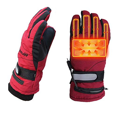 Kingwolfox Climbing Heated Gloves Battery Powered for Hiking Cycling,Camping,Hiking,Travel by Kingwolfox