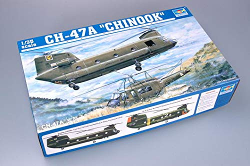 Trumpeter 1/35 Scale CH47A Chinook Helicopter