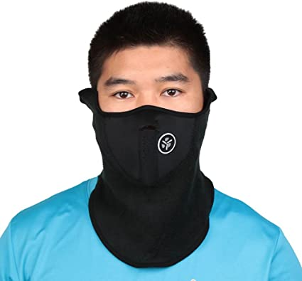 Super Warm Neoprene Cycling Face Mask With Breathing Ventilator Brand New Blue