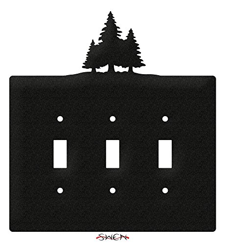 SWEN Products PINE TREES Wall Plate Cover