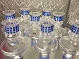 16 Plastic Royal Blue Candle Holder Favor Decorations Party Supplies Special Occasions