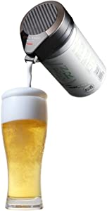 "GREEN HOUSE ""Ultrasonic Type One Touch Beer Server"" GH-BEERM-BK (BLACK)【Japan Domestic genuine products】 【Ships from JAPAN】"