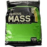 Optimum Nutrition Serious Mass Weight Gainer Protein Powder, Vanilla, 12 Pound