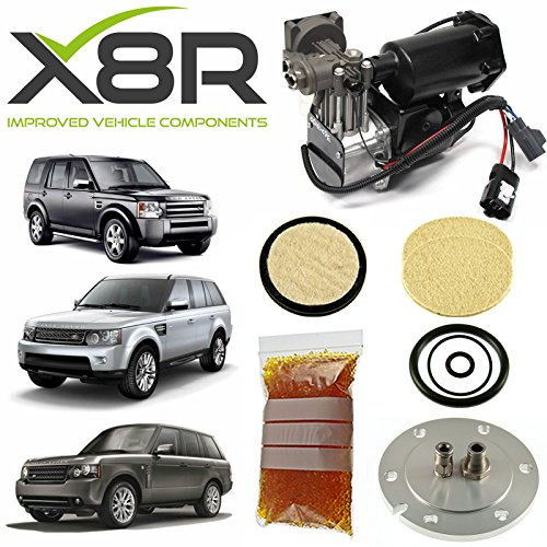 (LAND ROVER LR3 / DISCOVERY 3 2005-2009 AIR SUSPENSION COMPRESSOR DRYER REPAIR KIT PART: X8R40)