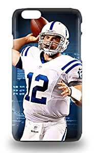 NFL Indianapolis Colts Andrew Luck #12 3D PC Soft Case Compatible With Iphone 6 Hot Protection 3D PC Soft Case ( Custom Picture iPhone 6, iPhone 6 PLUS, iPhone 5, iPhone 5S, iPhone 5C, iPhone 4, iPhone 4S,Galaxy S6,Galaxy S5,Galaxy S4,Galaxy S3,Note 3,iPad Mini-Mini 2,iPad Air )