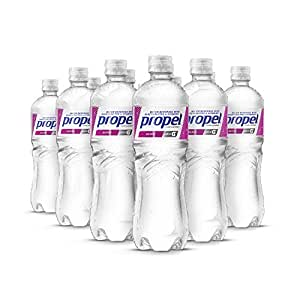 Propel Water Berry Flavored Water With Electrolytes, Vitamins and No Sugar 16.9 Ounces (Pack of 12)