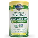 Garden of Life Vegan Green Superfood Powder - Raw Organic Perfect Whole Food Dietary Supplement, Original, 7.4oz (209g) Powder