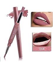 MISS ROSE Double-end Lasting Lipliner Waterproof Lip Liner Stick Pencil