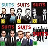 Suits - Season 1-6 im Set - Deutsche Originalware [23 DVDs]