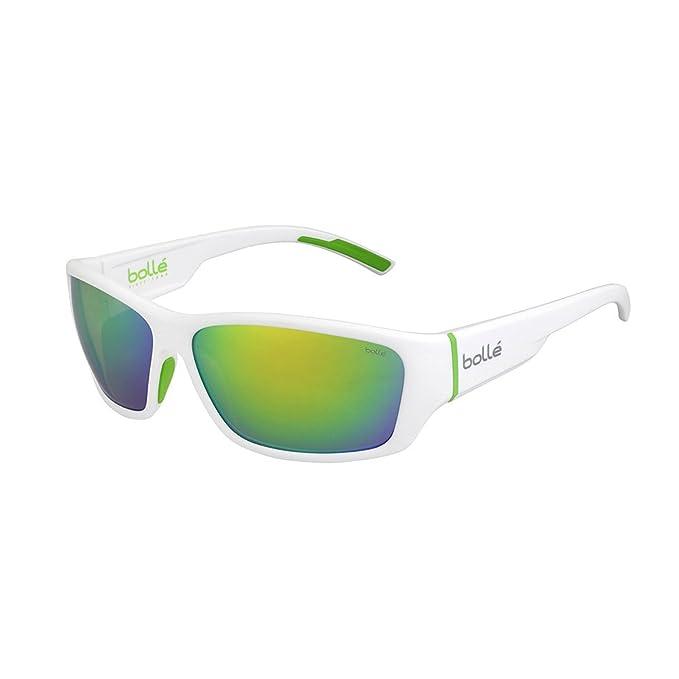 07d5761212980 Amazon.com: Bolle Ibex Matte Black Black 12373 Sunglasses TNS B-20.3 ...