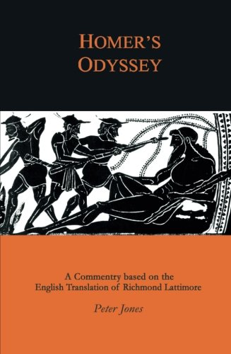 Homer's Odyssey: A Commentary bases on the English Translation of Richmond Lattimore (Richmond Online-shop)