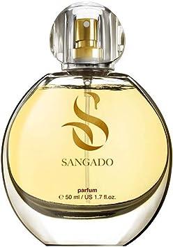 SANGADO J'ai pensé à toi Parfum pour Femme, 8 10 heures Longue durée, Senteur Luxe, Oriental Floral, Essences Françaises fines, Extra Concentré