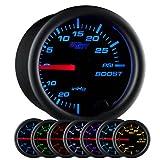 GlowShift Black 7 Color 30 PSI Turbo Boost/Vacuum