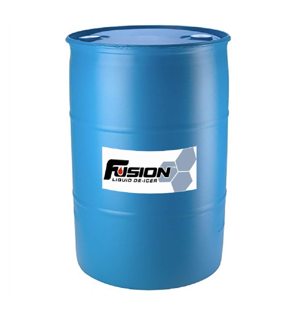 Fusion 2330 Liquid Ice and Snow Melter. Environmentally Friendly Ice Melt, Pet Safe and Sugar Beet Juice Based 200 Litre Drum (53 gallons) by Eco Solutions