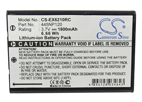 CameronSino Replacement Battery for Aluratek CDM530AM-3G, AXIMCom MR-102N, Buffalo Pocket WiFi DWR-PG, D-Link DWR-131 5-BT000002, Edimax 3G-6210n 3G-1880B BR-6210N, Li-ion 3.70V 1800mAh