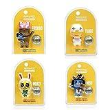 Kakao Friends Car Air Fresheners Season 2 Figure Type (4 set)