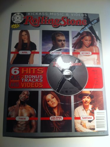 Price comparison product image Arvil Lavigne,  Lisa Marie Presley,  Justin Timberlake,  Beyonce,  Tyrese,  Santana,  Raheem Devaugn: CD-ROM Collector's Edition Vol 1,  1: 6 Hits Plus 2 Bonus Tracks & Videos