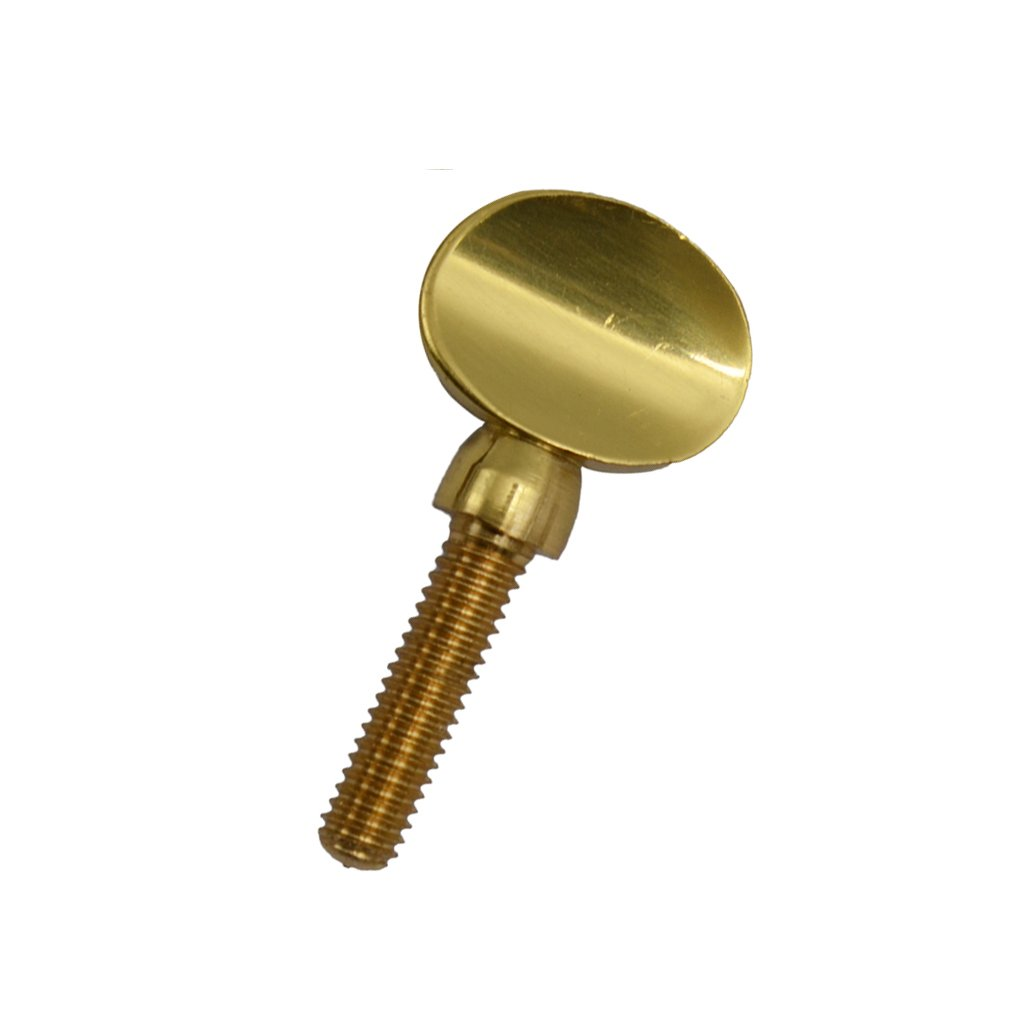 MonkeyJack 1 Piece Golden Brass Saxophone Neck Tightening Screw Woodwind Instrument Accessory 1.2 x 0.58inch