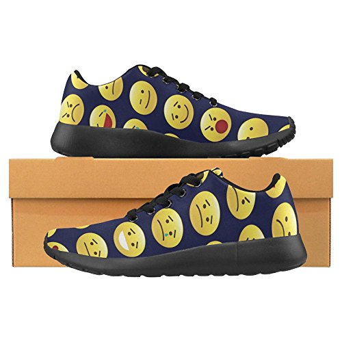 Interestprint Femmes Jogging Running Sneaker Léger Aller Facile À Pied Casual Confort Chaussures De Course Multi 19