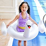 Swan Pool Floats for Kids Inflatable Pool FloatsBaby Pool Floats for Adults Kids Pool Toys Water Game Inflatable Swim Ring Unicorn Swimming Circle Ddult Swimming
