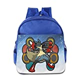 It Is Very Soft And Lightweight. The Super Lightweight Makes Your Kids Easy To Carry Around.Perfect For Ages 3-6 Years Old Kids Girls And Boys. It Is Cute And Lovely Backpack For Your Kids.The Padded Shoulder Straps Are Also Adjustable, Makin...