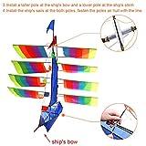 Tresbro Sailing Ship Kite Flying for Beach, 3D Cool