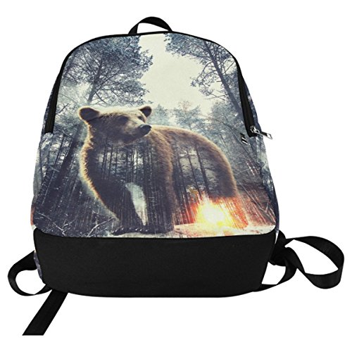 Bag multi 2 Daypack InterestPrint Travel Casual Fantasy Custom School Backpack College qw6YSzTO
